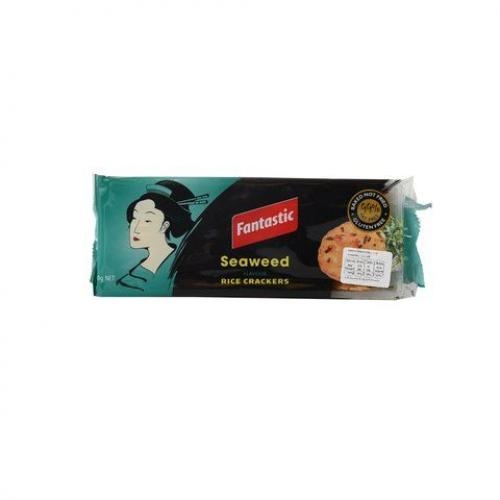 Seaweed Flavour Rice Crackers