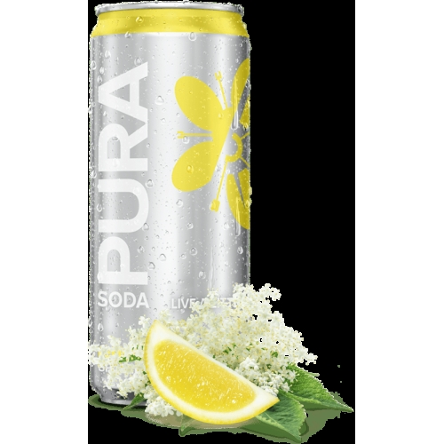 Lemon & Elderflower Pura Soda