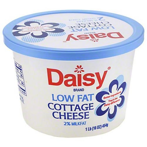 2% Low Fat Cottage  Cheese 454Gr - Daisy