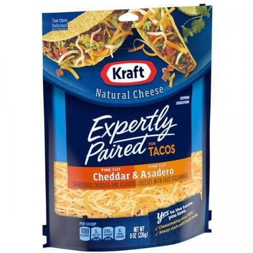Shredded Mexican Monterey Cheese 226Gr - Kraft